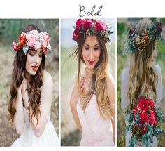 bianchi lampadari : flower crowns for your fall wedding - Rustic Folk Weddings