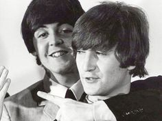 """Whatever bad things John said about me, he would also slip his glasses down to the end of his nose and say, 'I love you'. That's really what I hold on to. That's what I believe. The rest is showing off.""-Paul McCartney"