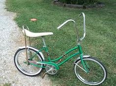A spider bike with banana seat. Mine was lime green and had a white plastic basket on the front and a very tall flag on the back. Logged many a mile on that thing.