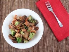 LC Pork Stir Fry (You can omit the carrots and substitute a sliced up red/green pepper, add water chestnuts (1/2 cup is only 4 net carbs, or add in some bamboo shoots, only 2 net carbs for a whole can.)