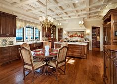 Project 31 - mediterranean - Kitchen - Santa Barbara - Giffin & Crane General Contractors, Inc.