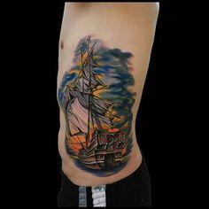 Tattoo i did of my homie josh hagans wife leigha hagan for Sacred art tattoo tucson