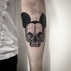 Mickey mouse skull. Great fun! Thanks Jamie