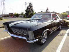 1965 Buick Riviera Gran Sport. Slammed on it's nuts and flat black or matte silver would be the shit.