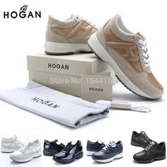 Cheap shoes badminton, Buy Quality shoe zone shoes directly from China shoe Suppliers:   Italian fashion brand hogans women's casual shoes sneakers outdoor gatherings elevator shoes for women fashion Ca