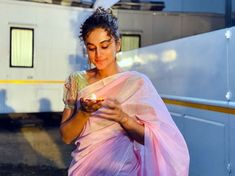 Katrina, Janhvi's AMAZING colours. Anushka glows! - Rediff.com movies Diwali, Take A Break, Take That, Taapsee Pannu, Bollywood Actress, Glow, Colours, Actresses, Amazing