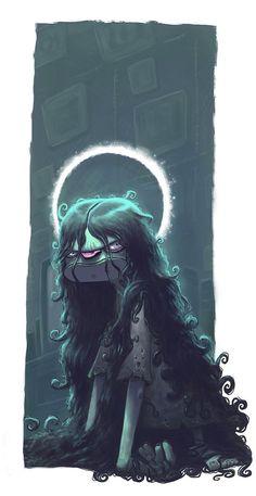 Illustration by Arthur Mask, via Behance Monster Illustration, Illustration Art, Fantasy Paintings, Fantasy Art, Zombies, Vampires, Character Art, Character Design, Design Creation