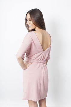 Emmi Dress - Dusty Pink