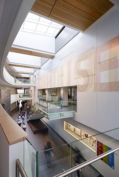 . I. Newhouse School of Public Communications Environmental Graphics  Location Syracuse, New York  Client Ennead Architects Designer Richard Poulin