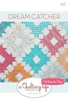 Dream Catcher Quilt PatternA Quilting Life Designs #QLD-121 - Quilt Patterns   Fat Quarter Shop