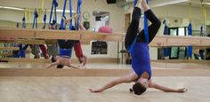 Aerial Conditioning - Lab 5 Fitness - Capitol Hill - Seattle