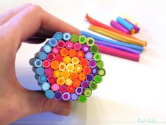 Making Rainbows - Polymer clay canes with clay gun Czextruder with a Step-By-Step guide