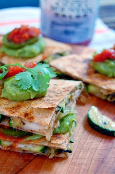 Spanish Cheese & Zucchini Quesadillas - Uproot from Oregon Organic Recipes, Mexican Food Recipes, Vegetarian Recipes, Clean Eating Recipes, Cooking Recipes, Spanish Cheese, Tapas, Healthy Zucchini, Dinner Dishes
