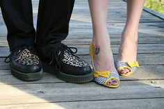 Leopard print Creepers?? Hell yeah!