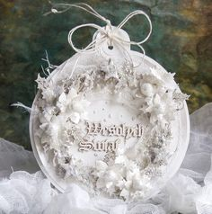 Dorota_mk, Christmas paper ornament