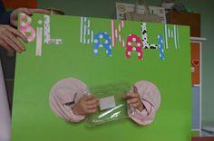Oyun etkinlik Montessori Preschool, Sensory Activities, Kindergarten Activities, Educational Activities, Preschool Crafts, Preschool Activities, Games 4 Kids, Family Games, English Activities
