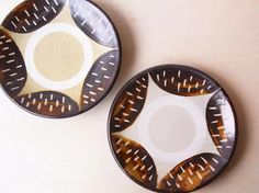 工房十鶴 : miyagiya 沖縄の陶器 やちむん 蛇の目星5寸皿 | Sumally (サマリー)