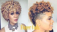 61 Finger Coils Hairstyles: A Guide to Wonerland – New Natural Hairstyles Bantu Knot Hairstyles, Bob Hairstyles With Bangs, Short Hair Updo, Short Hairstyles For Women, Curly Hair Styles, Natural Hair Styles, Black Hairstyles, Pretty Hairstyles, Coiling Natural Hair