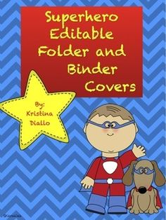 Seven binder covers that can be edited to fit your needs. They can also be used as homework folder covers. Enjoy!