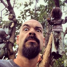 Ghost Adventures: Aaron Goodwin at The Island Of The Dolls, Xochimilco, Mexico.