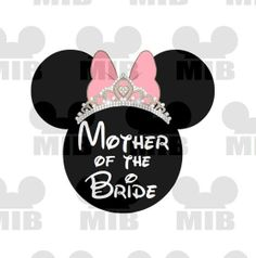 Disney Wedding MOTHER of the BRIDE Perfect for Your by MiceInBlack, $5.00