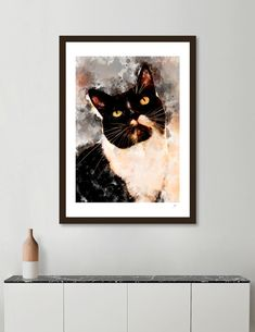 Discover «Cat Jagoda art», Numbered Edition Fine Art Print by Justyna Jaszke - From $19 - Curioos