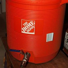 Using a standard beverage cooler and some easily sourced hardware, build some DIY home-brewing equipment.