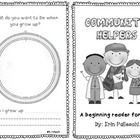 This is a very simple reader for Pre K-1 and ESL students.  It contains repetitive text (I am a ...) to help build fluency and confidence.  FREEBIE  My ...