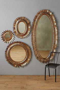 Sundial Mirror - anthropologie.com