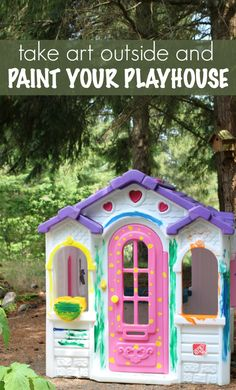 Let your kids loose with washable paint - OUTDOOR ART for kids! Outside Activities For Kids, Gross Motor Activities, Outdoor Learning, Fun Learning, Painting For Kids, Art For Kids, Painting Art, Outdoor Play Spaces, Outdoor Art