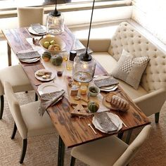 Groovy 13 Best Sofa At Dining Table Images In 2013 Dining Dining Interior Design Ideas Gentotthenellocom