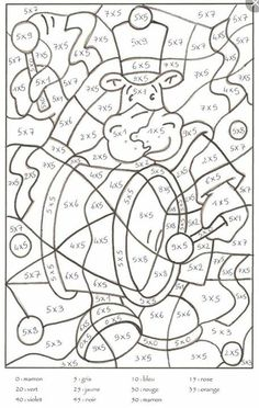 Home Decorating Style 2020 for Coloriage Magique Cp Maths, you can see Coloriage Magique Cp Maths and more pictures for Home Interior Designing 2020 at Coloriage Kids. Math Classroom, Kindergarten Math, Teaching Math, Math Division Worksheets, Fun Worksheets, Math Pages, Math Multiplication, Color By Numbers, Homeschool Math