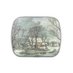 and Winter in the Country Jelly Belly Candy Tins