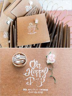 darling wedding programs @weddingchicks