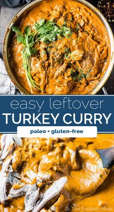 Butter Turkey Curry SAVE FOR LATER! If you like butter chicken then you will LOVE Butter Turkey Curry. It's the best way to use your Thanksgiving (or Christmas) turkey dinner leftovers! Leftover Turkey Curry, Leftover Turkey Recipes, Leftovers Recipes, Christmas Dinner Leftover Recipes, Christmas Recipes, Leftover Chicken Curry, Cooked Chicken Recipes Leftovers, Dinner Recipes, Christmas Cooking