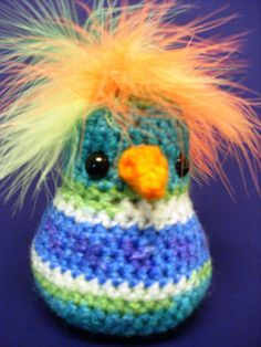 More Birds to Crochet – free patterns – Grandmother's Pattern Book