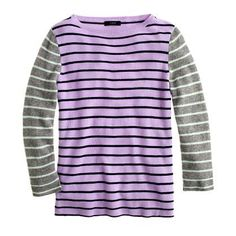 Collection Cashmere Colorblock Stripe Sweater | J.crew