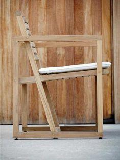 Jan Kurtz Armlehnsessel Timber kaufen im borono Online Shop Jan Kurtz, Garden Chairs, Outdoor Furniture, Outdoor Decor, Bar Stools, Beautiful Homes, Dining Chairs, Recycling, Wood
