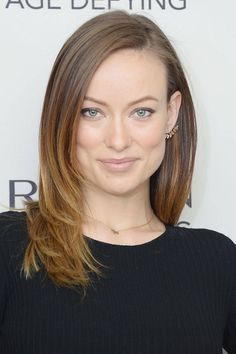oh if only my huge forehead was that smooth--the midi? Celebrities with Mid-Length Hair - Medium Length Hairstyles - Elle