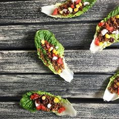 When it's as bloody hot as this, you can't really go past lettuce leaf tacos for lunch and/or…