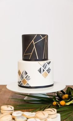 Wedding Cake Topper Initials Hexagon Cake topper Modern Wedding Cake Topper Wood cake topper Geomet - About Wedding Wedding Cake Photos, Cool Wedding Cakes, Wedding Cake Toppers, Modern Wedding Cakes, Wood Cake, Geometric Cake, Geometric Wedding, Gorgeous Cakes, Pretty Cakes