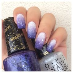 Gradient #manicure with sand polishes ===== Check out my Etsy store for some nail art supplies https://www.etsy.com/shop/LaPalomaBoutique