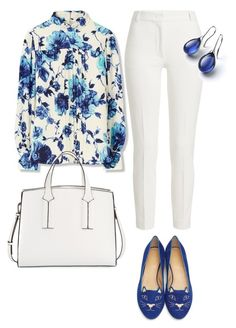 My First Polyvore Outfit by maxxie-ph on Polyvore featuring polyvore fashion style Tory Burch Joseph Charlotte Olympia French Connection clothing