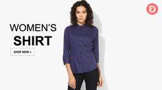 #fashion #StyleHappensHere #style Buy Women's Shirts upto 50% off @farzideal.com