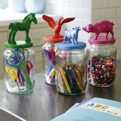 Riciclare vasi di vetro 04