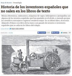 Historia de los inventores españoles que no salen en los libros de texto…
