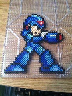 Megaman X Perler Beads by Khoriana on deviantART