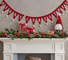 Merry Christmas Bunting Garland #pbkids