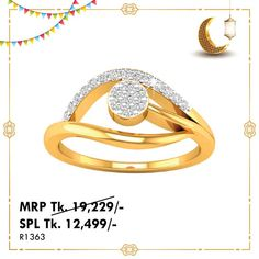 Ring - Online ঈদ আয়োজন Ring Bracelet, Ring Earrings, Bangle Bracelets, Today Gold Price, Gold Coin Ring, Color Ring, Rings Online, Gold Coins, Solitaire Ring
