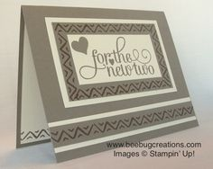 Bohemian Borders Wedding Card | BeeBug Creations